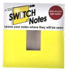 Interruptor-notas-Interruptor-de-la-luz-NOTAS-ADHESIVAS