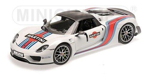 """OVP110062440 Porsche 918 Spyder 2013 /""""Martini/"""" #1 1:18 Minichamps neu"""