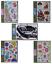 Enfants Filles Garçons Fleur Fée Fées Pirate Rally Voiture espace fusée Wall Stickers