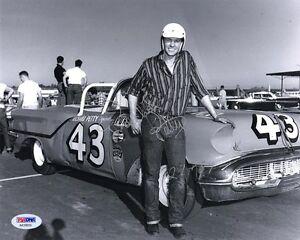 RICHARD PETTY SIGNED AUTOGRAPHED 8x10 PHOTO + 27 + 67 NASCAR LEGEND PSA/DNA