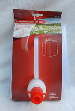 Portable Foldaway 10 Litre Water Carrier with Spout - Camping / Sailing - BNWT