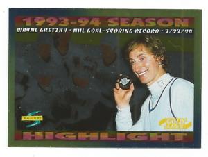 1994-95-Score-Gold-Line-241-Wayne-Gretzky-Los-Angeles-Kings