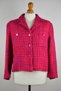 Kenzo-Jungle-Women-039-s-Wool-Jacket-Size-42-UK-14-IT-46