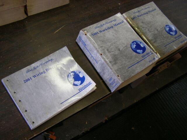 Oem Ford 2001 Windstar Minivan Shop Manual Books   Wiring