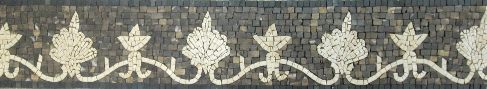 Tile Art Border Skirting Pool Garden Home Marble Mosaic BD513