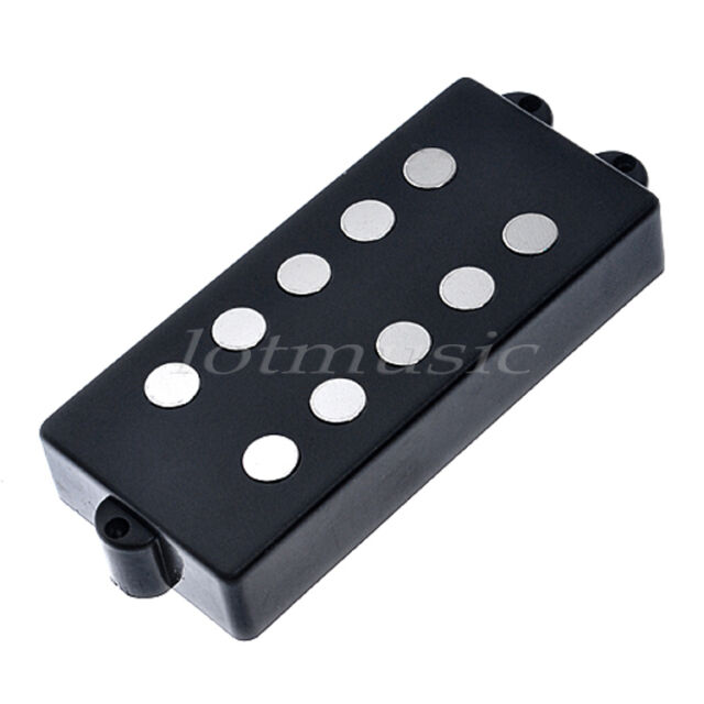 Belcat 5 String Bass Humbucker Double Coil Pickup Black For Bass Guitar