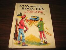 Don & The Book Bus by Helen D. Olds (1st Gibraltar Edition) 1968 Nice Drawings