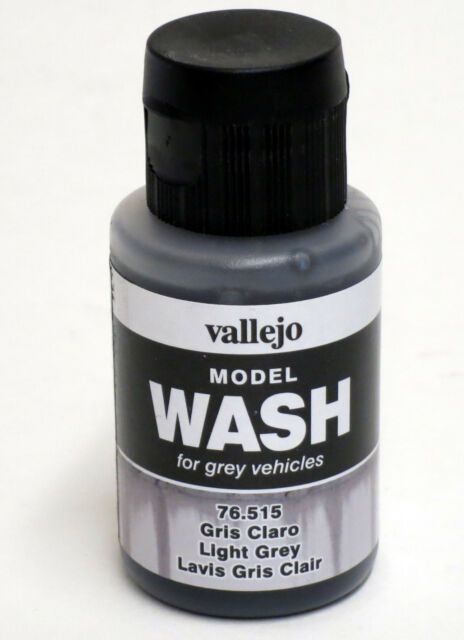 Vallejo Wash 76.515 Light Grey Wash 35ml