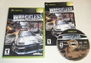 Wreckless-The-Yakuza-Missions-COMPLETE-GAME-for-your-original-XBOX-system-GC