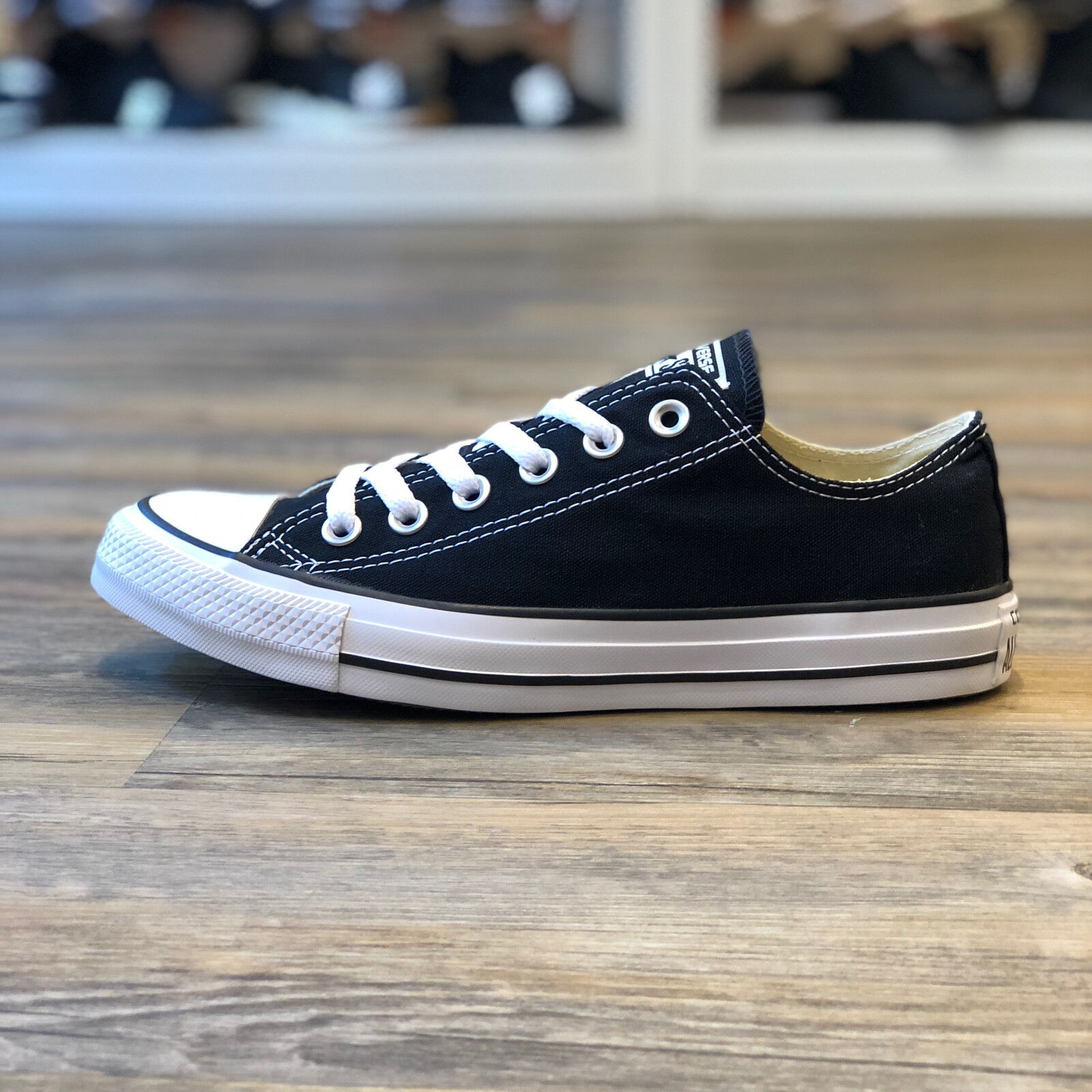 info for 231ad a7095 Converse All All All Star OS Low Taille 39,5 Noir Chaussures Turn Sneaker  Black Femmes m9166c 17c994