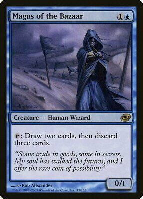 Conjurer Adept Planar Chaos Pld Azul Raro Magic The Gathering Cartão abugames Braids