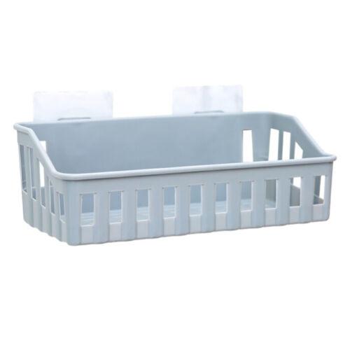 Bathroom Storage Cup Holder Shelf Shower Caddy Tool Organizer Rack Basket Sucker
