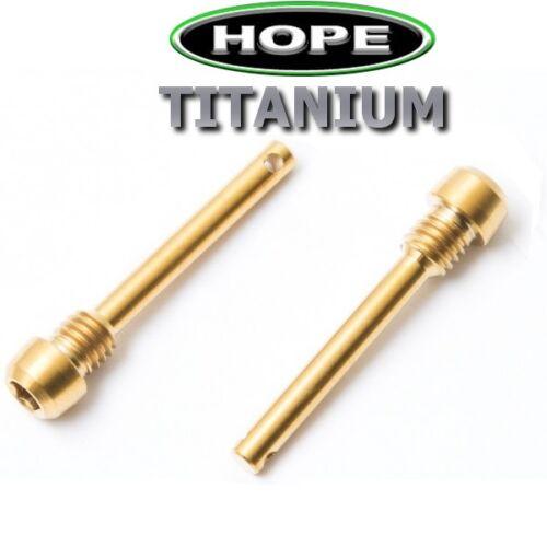 43/% leichter HOPE M4 V4 X2 V2 2 Bremsbelägeachsen aus TITAN 4 Farben