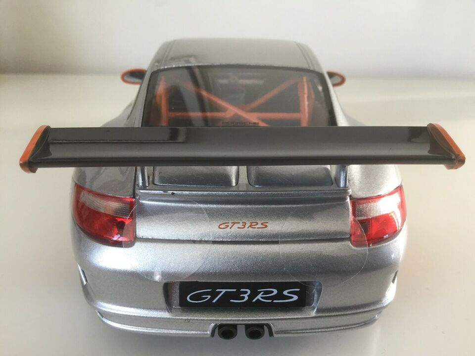 Modelbil, Welly Porsche 911 (997) GT3 RS, skala 1/18