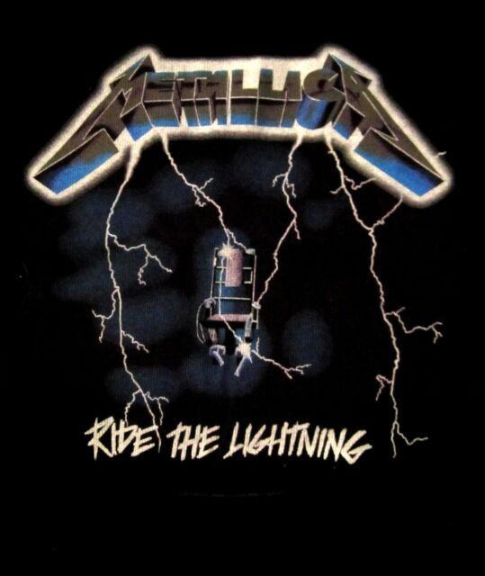 METALLICA cd cvr RIDE THE LIGHTNING Official ROMPER ONE-PIECE SHIRT 18 MONTH new