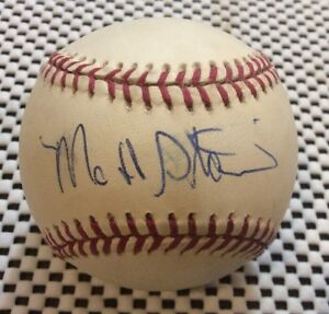 Matt Stairs autographed Signed Official MLB Rawlings baseball American League