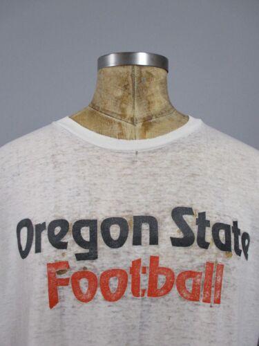 Vtg 80s 90s NIKE Oregon State Football Shirt Rare