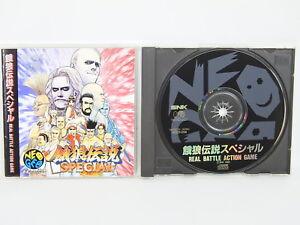 FATAL-FURY-SPECIAL-NEO-GEO-CD-Neogeo-SNK-Japan-Game-nc