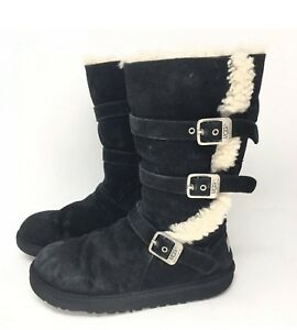 UGG AUSTRALIA Maddi Buckle Boots