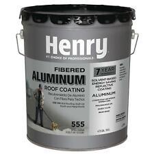 Henry He555019 Brilliant Aluminum Roof Coating Fiber 5 Gallon For Sale Online Ebay