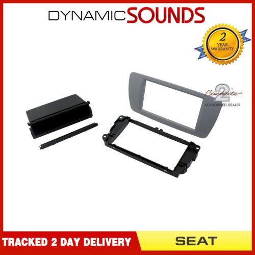 CT24ST10 Car CD Fascia Panel Adaptor Conemara Grey For Seat Ibiza