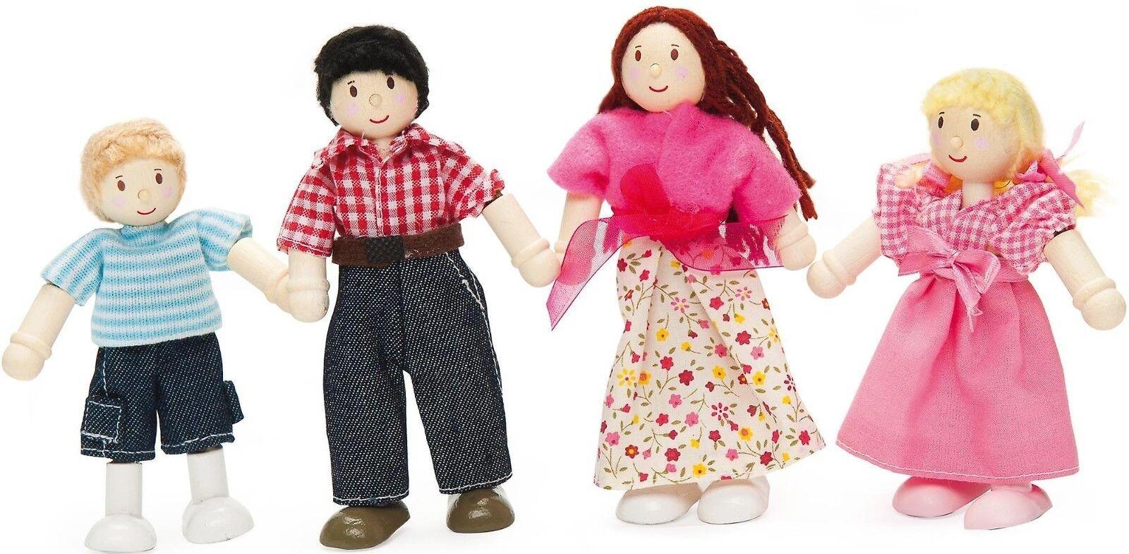 Le Toy Toy Toy Van Daisylane My Family Holzpuppen Familie Zubehör Holzspielzeug Holz Set  | Öffnen Sie das Interesse und die Innovation Ihres Kindes, aber auch die Unschuld von Kindern, kindlich, glücklich  388cc8