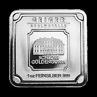 5 X 1 Oz Geiger Edelmetalle Silver Bar