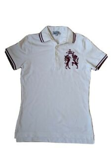 VIVIENNE WESTWOOD MAN SIZE M WHITE WITH RED DETAILING  VINTAGE POLO SHIRT