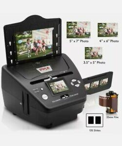 New Pyle 3-in-1 Photo, Slide and Film Scanner - Digital Media Digitizer Copier