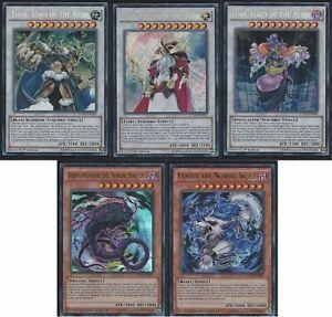 Yu-Gi-Oh-Nordic-Gods-5-Cards-Set-Thor-Loki-Odin-Fenrir-HOT-Extra-Bonus