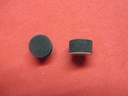 Black Rubber Water Key//Spit Valve Gaskets Set of 2 For King /& Others Corks