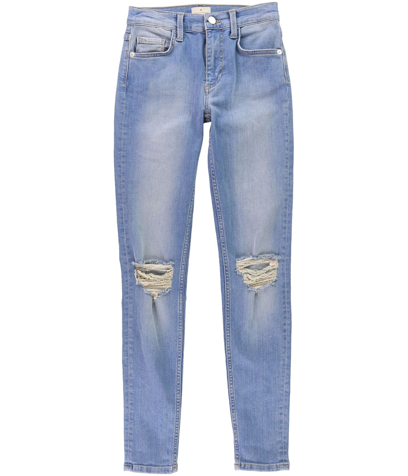 French Connection Womens Ripped Skinny Fit Jeans