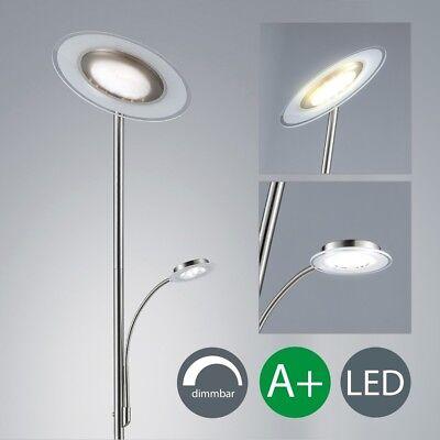 LED Deckenfluter Deckenstrahler dimmbar Touch 21W Lese-Lampe Steh-Leuchte modern