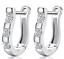 Stainless-Steel-Punk-White-Sapphire-Hoop-Huggie-Studs-Cuff-Men-Women-Earrings thumbnail 16