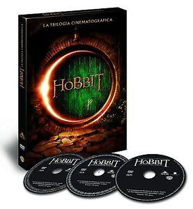 EL HOBBIT TRILOGIA COMPLETA DVD VIAJE SMAUG LA BATALLA NUEVO ( SIN ABRIR ) 2016