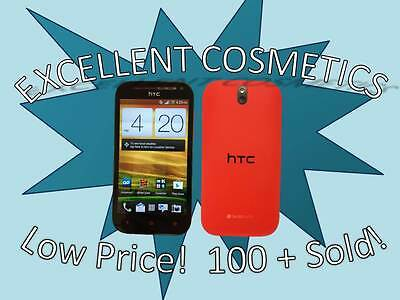 HTC One SV - Red (Boost Mobile) Smartphone {EXCELLENT COSMETICS}