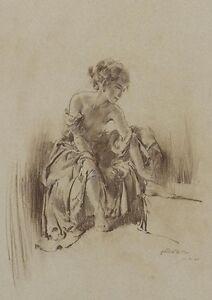 nude sketch prints