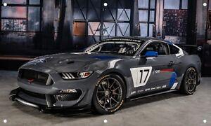Ford-Performance-Mustang-3-039-X5-039-VINYL-BANNER-MAN-CAVE-GARAGE-SIGN-MECHANIC-SHOP