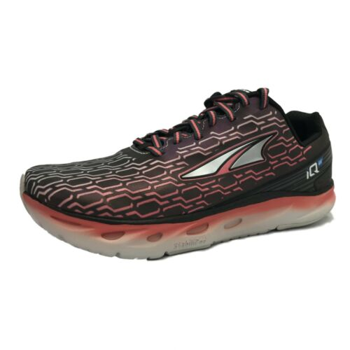Altra Women/'s IQ Running Shoe Black//Sugar Coral