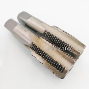 HSS 18mm x 1 Metric Taper /& Plug Tap Right Hand Thread M18 x 1mm Pitch