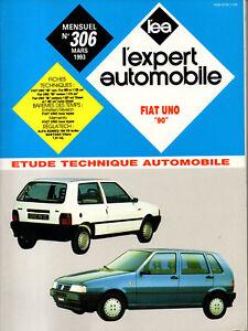 Style De Mode Rta Revue Technique Automobile N° 306 Fiat Uno 90