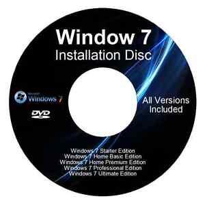 windows 7 installation disc near me