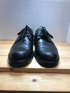 Vintage Cole Haan Black Leather Round