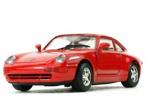 PORSCHE 911 - red - MotorMax 1:24