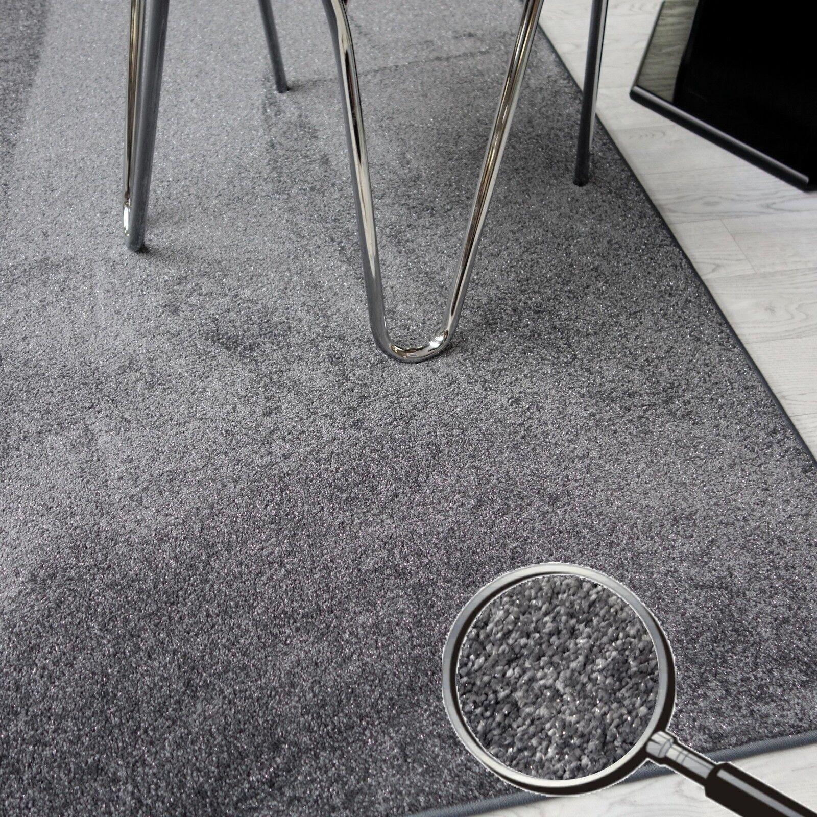 Velours Teppich mit Glittereffekt  AW SPARKLE    weich und funky NEU 3a39e7