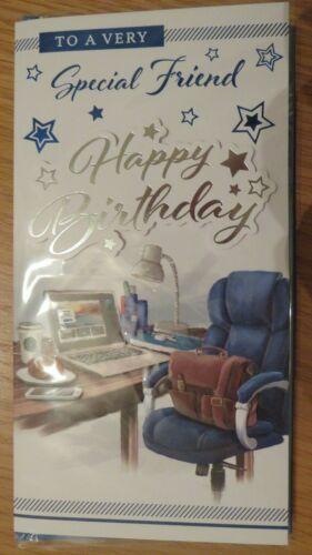 A VERY SPECIAL FRIEND MEDIUM SIZE BIRTHDAY CARD