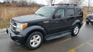 2007 Dodge Nitro 310K, cert. $3500. AC sunroof 4x4 winters