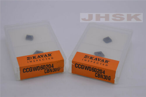 2pcs CCGW060204 CBN30G CCGW21.51 CBN30G  High hardness steel processing
