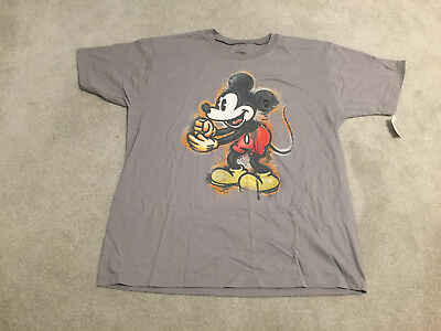 3xl Men/'s Mickey Mouse All Over Gray Tee Shirt NWT Disney Store
