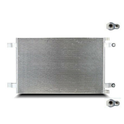 18mm Core Depth 4 Rails Unpainted l CN-PF1018 Condenser A//C 10x18